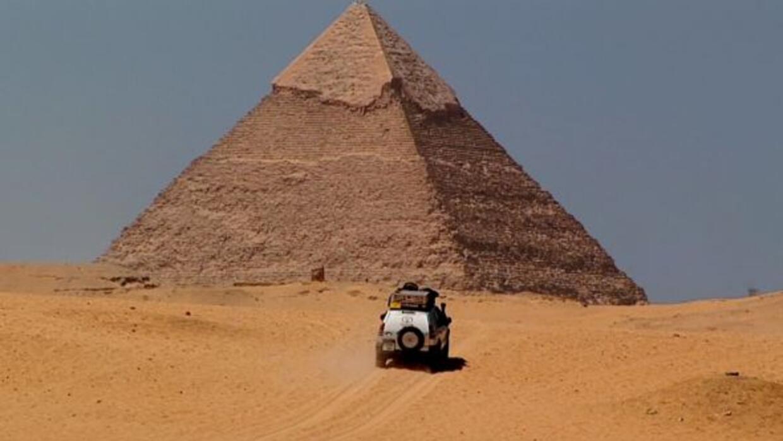 El recorrido por más de 50 países a lo largo de dos años y en un solo ve...