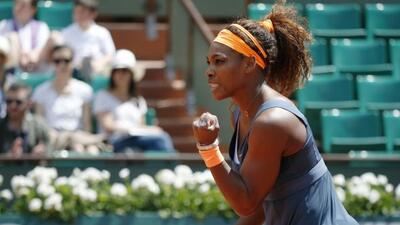 Serena derrotó fácilmente a la italiana Vinci para colarse a los cuartos...