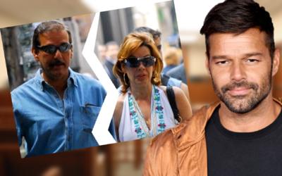 Se divorcia padre de Ricky Martin