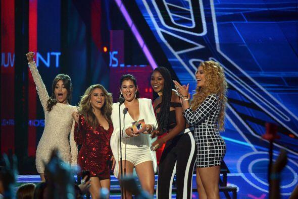 Las chicas de Fifth Harmony fueron las encargadas de dar a conocer al ga...