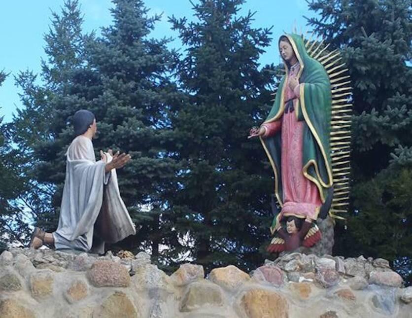 Santuario de la Virgen de la Guadalupe, en Des Plaines, Illinois