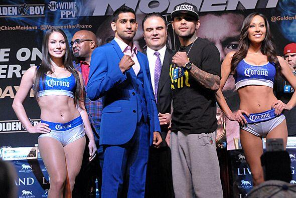Kahn tendrá un rival difícil, Luis Collazo, quien venció a Victor Ortiz.