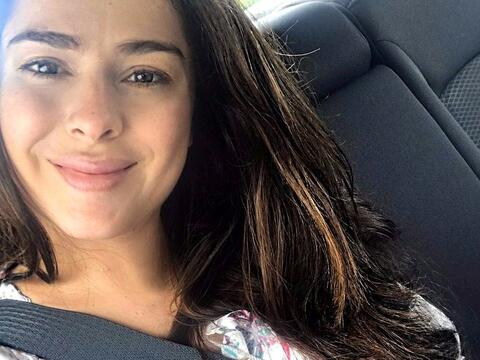 Danna García disfruta su embarazo a pesar de los malestares