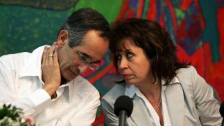 El divorcio del presidente de Guatemala, Alvaro Colom y su esposa Sandra...