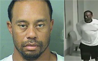 Revelan nuevo video que evidencia la dificultad de Tiger Woods para hace...