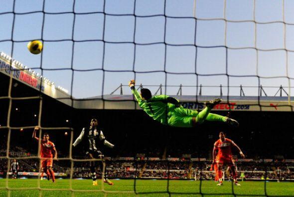 A pesar de jugar como local, Newcastle no pudo llegar al gol.