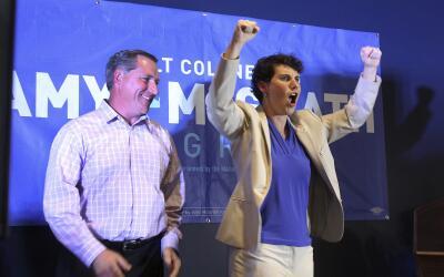 Amy McGrath disputará un puesto en la Cámara de Representa...