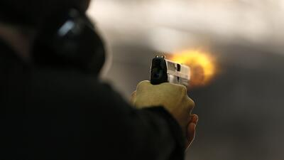 Disparo pistola