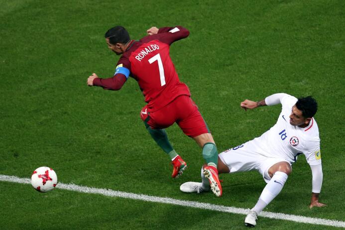 La impotencia de Cristiano Ronaldo: el mejor del mundo encerrado en la t...