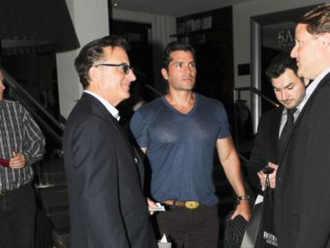 Beverly Hills se iluminó con el brillo de varias celebridades que...