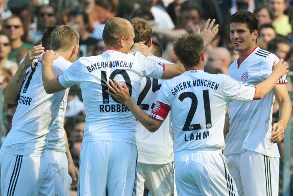 Gracias al aporte de 'Super Mario', el Bayern ya aseguró estar en...