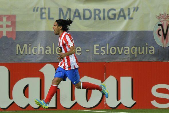 Cuando faltaba poco para que acabara el juego, Falcao marcó el gol del t...