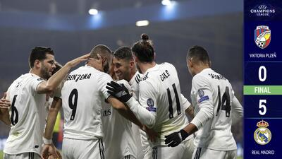 Real Madrid recuperó su esencia y aplastó al Viktoria Plzen