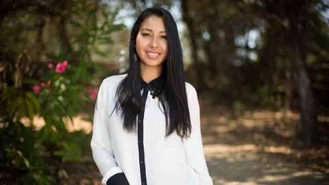 Sarahí Espinoza creó la aplicación Dreamer's Roadmap para que estudiante...