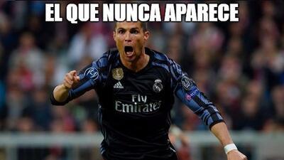 Cristiano, Vidal y más protagonistas de los divertidos memes de la Champions League