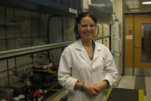 Científicos trabajan árduamente en los laboratorios de St. Jude tratando...