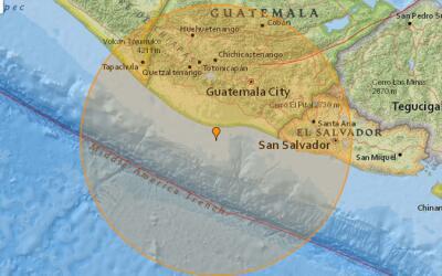 Guatemala es una de la zonas sísmicas más activas del plan...