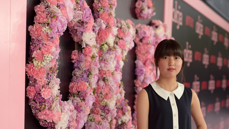 An Seo Hyun en la premier de 'Okja' en Nueva York