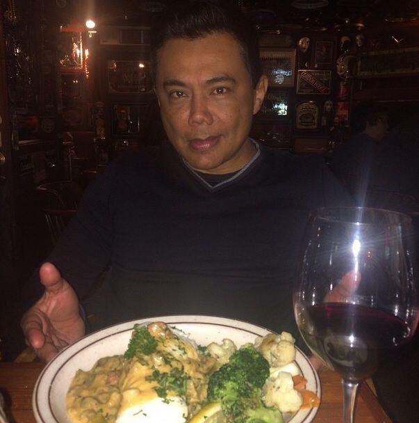 Y para terminar el día una deliciosa cena de halibut con vegetales.