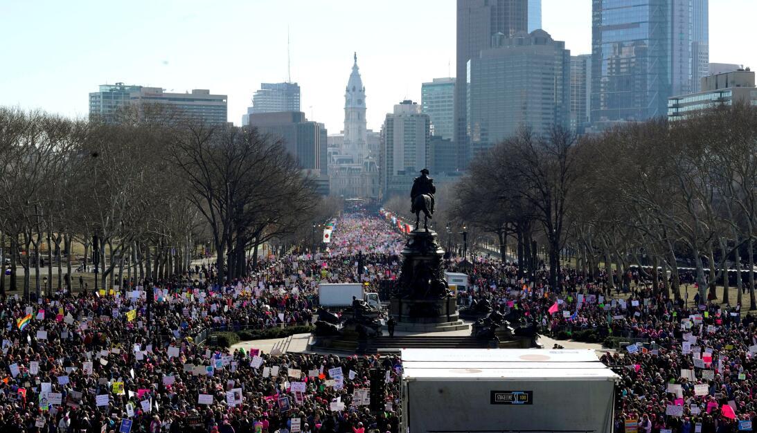 En fotos: La Marcha de las Mujeres llega las principales ciudades de EEU...