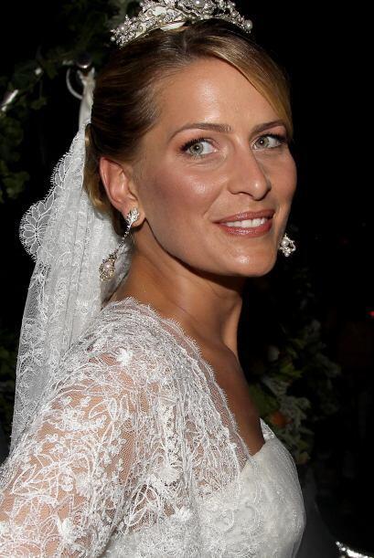 Tatiana Blatnik, casada con Nicolás de Grecia, lució divina con una tiar...