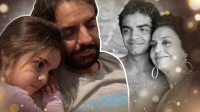 Eugenio Derbez le canta a su pequeña hija la canción que interpretaba su fallecida madre, Silvia Derbez