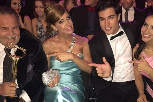 A la ceremonia también asistieron Danilo y Jessica.