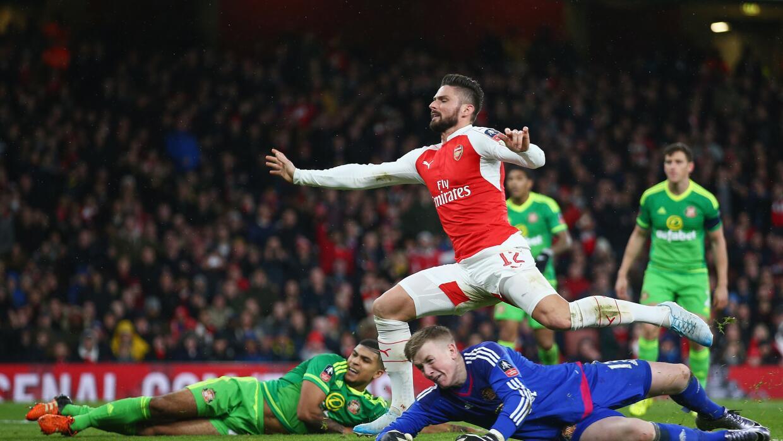Arsenal derrotó a Sunderland