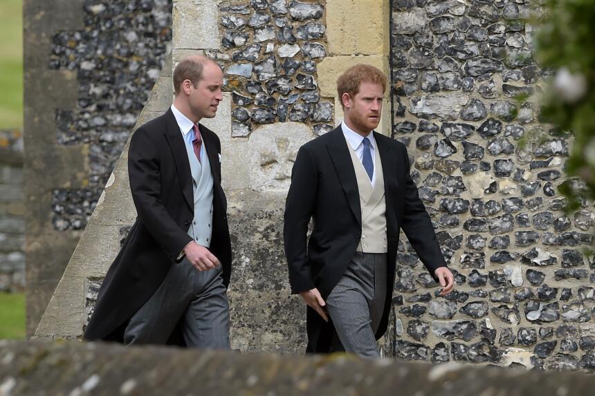 El Príncipe Harry llegó a la iglesia sin su novia Meghan Markle, aquí ac...