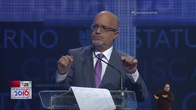 Rafael Bernabe reaccionó en tema libre a la privatización de servicios en la Isla