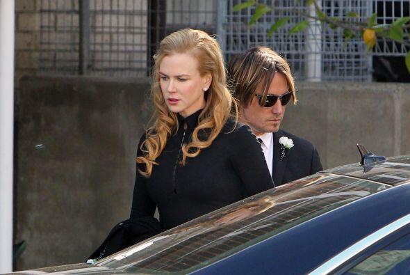 Kidman era una de las más afectadas. Se dice que la actriz le dedicó una...