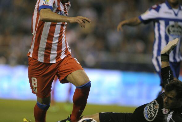 El Atlético de Madrid se llevó un empate sin goles ante el...
