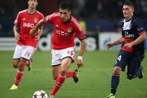Por su parte, el París Saint-Germain recibió al Benfica.