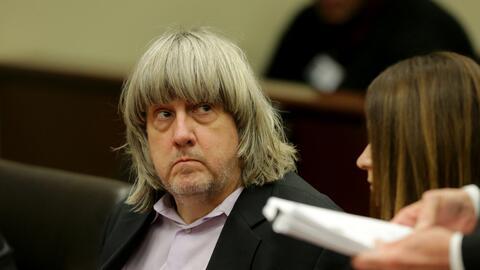 David Turpin durante su presentación en corte el 18 de enero de 2018.
