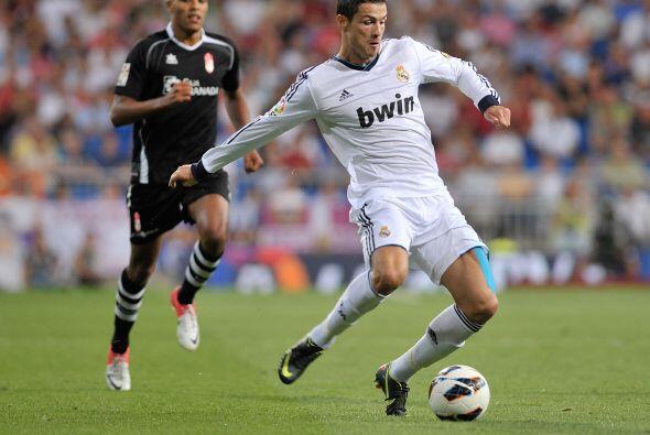 Cristiano Ronaldo fue más efectivo de lo que había sido en jornadas ante...
