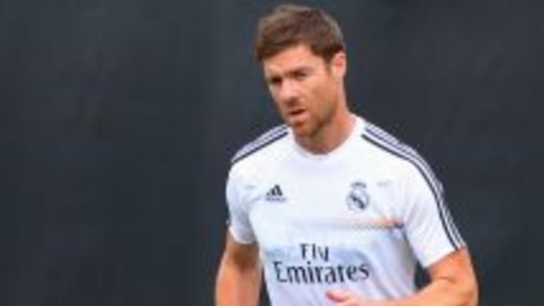 El futbolista vasco ya entrenó junto con sus compañeros.
