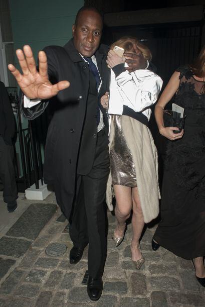 Es una lástima que Lohan no se sepa comportar en este tipo de galas.