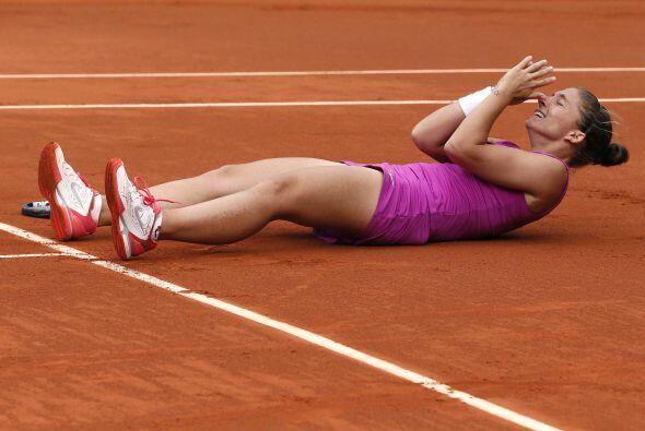 Errani, ganadora este año de los títulos de Acapulco, Barcelona y Budape...