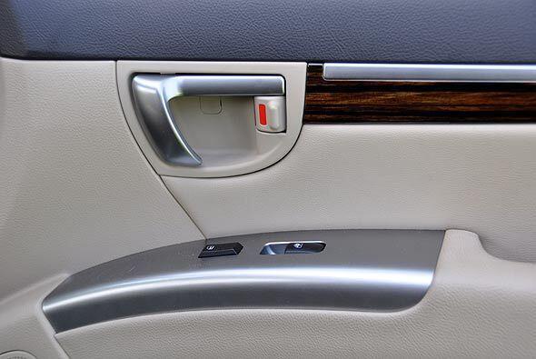Los materiales interiores crean un ambiente agradable y son de buena cal...