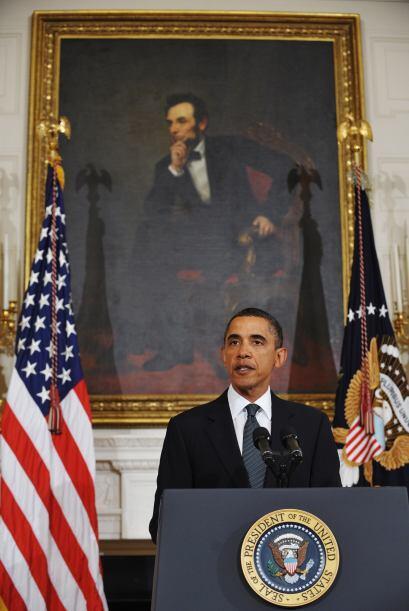 El domingo, a pocas horas de conocer el hecho, Barack Obama dijo que 'se...