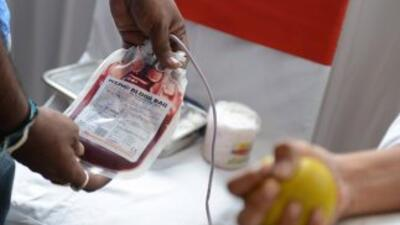 Escasea la sangre en el centro de Texas.