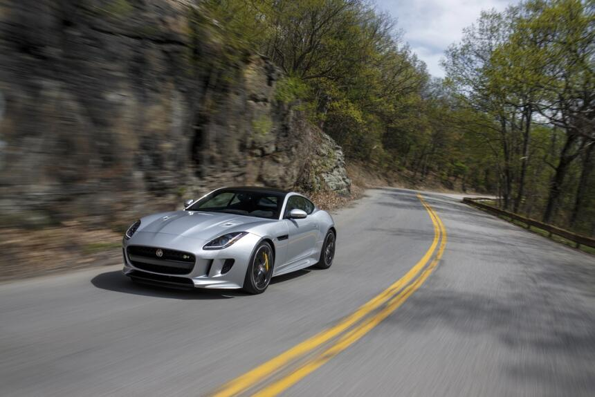 Puesto 4: el Jaguar F-Type es otro de los que realmente se asemeja a un...