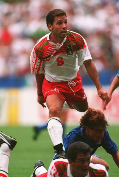 Para el mundial de 1994, la selección mexicana salió con esta playera qu...