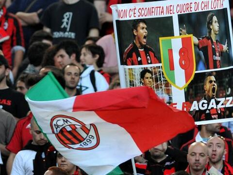 El Milan enfrentó a la Roma en un partido clásico del f&ua...