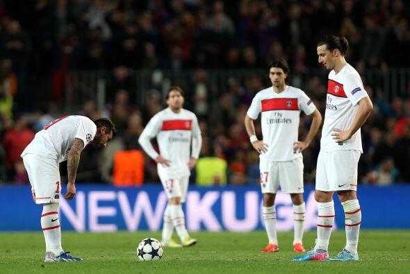 El esfuerzo del PSG era más que aplaudible, pero no le estaba bastando.