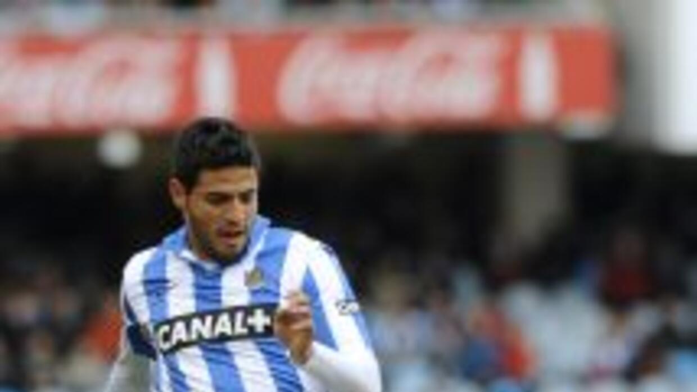 Vela realizó el gol tres mil para los 'txuri-urdin' ante el Málaga.