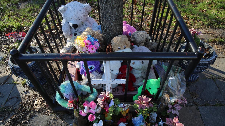 Lugar de tributo a Amber Hagerman en Arlington, Texas
