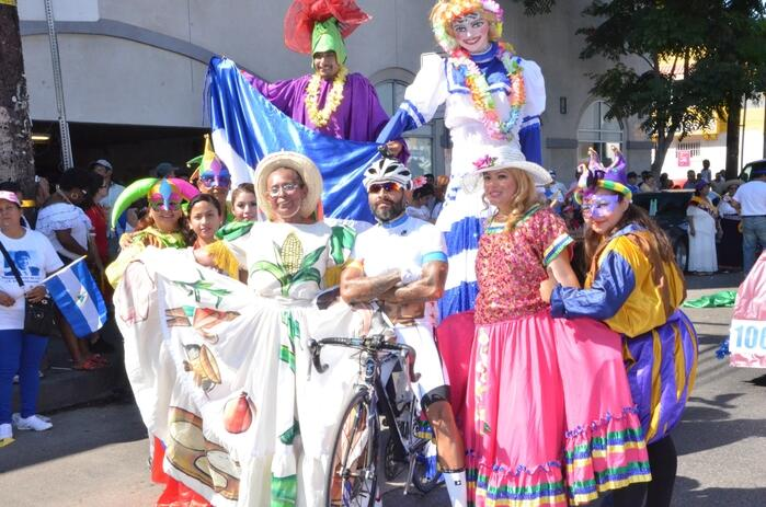 Desde hace 34 años se celebran desfiles por la Independencia de Centroam...