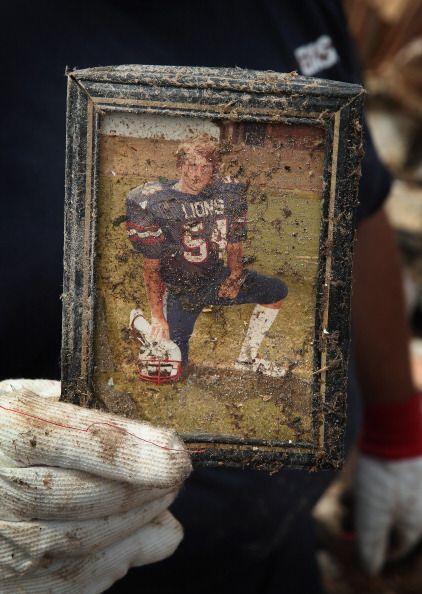 La foto de Cook fue uno de sus recuerdos más preciados que sobrev...