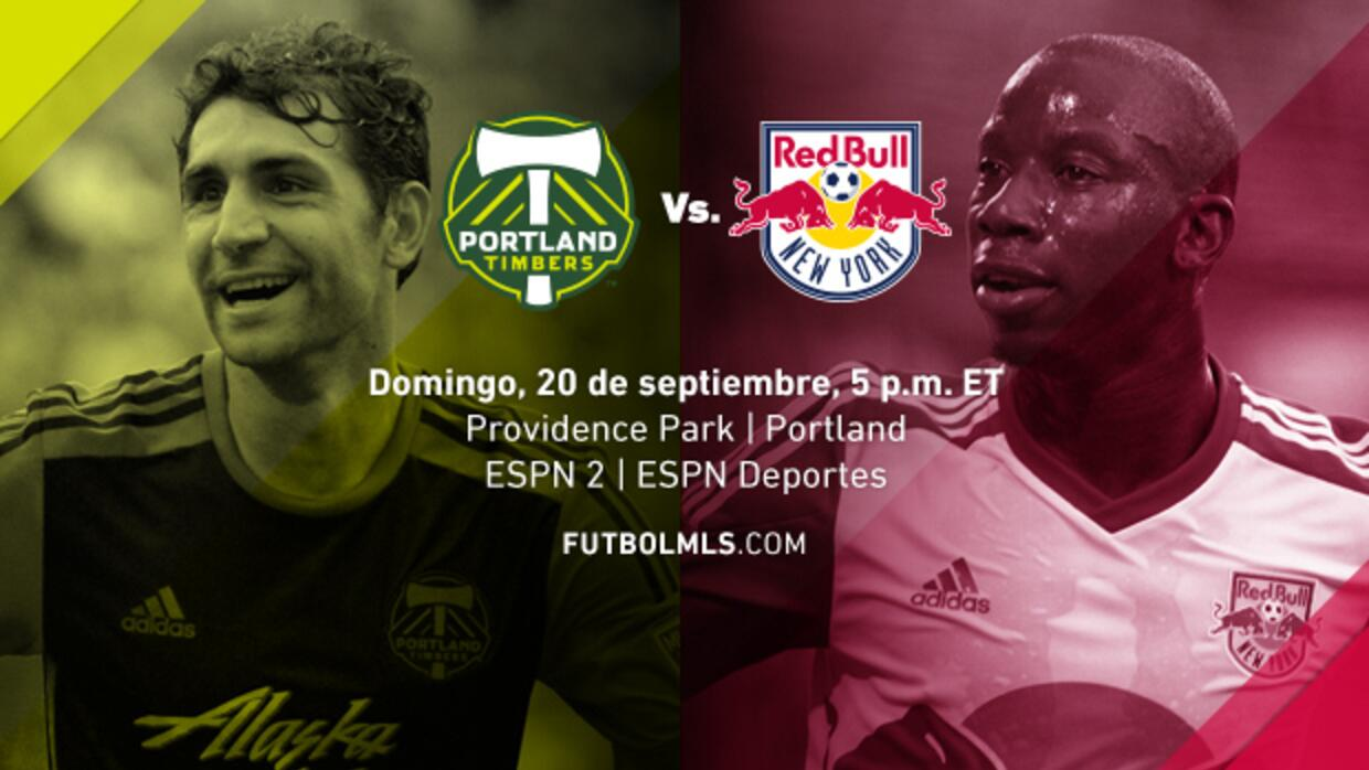 Portland Timbers vs NY Red Bulls